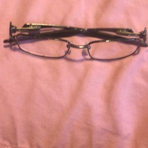 Black Oakley Rudder glasses frames